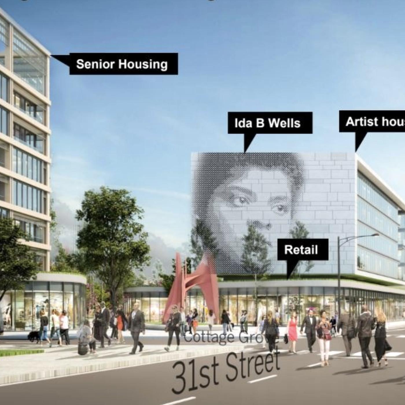 Michael Reese development: New plan has affordable housing