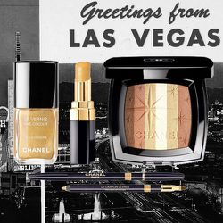 <strong>Chanel</strong>'s 2011 Las Vegas-inspired mini collection included a palette called Lucky Strike and a nail polish named Goldfinger.