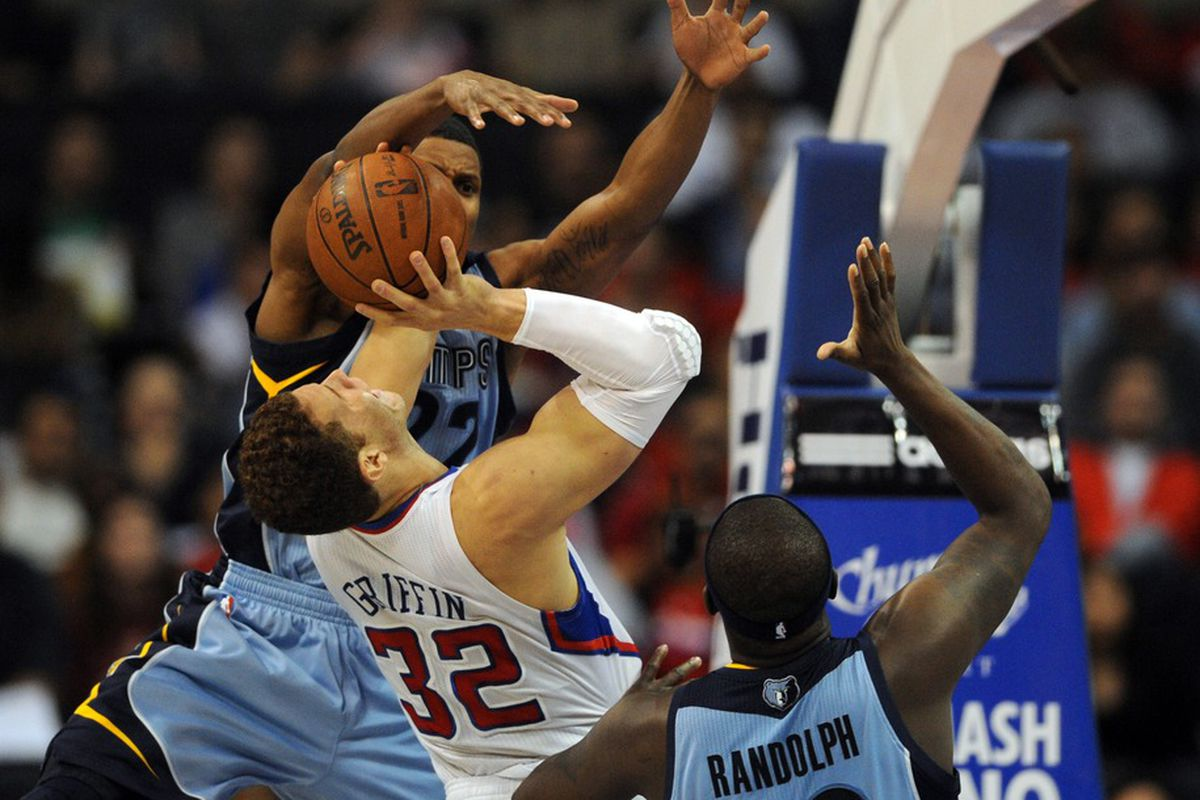 Keeping Blake Griffin from hurting anybody could be a key tonight's Grizzlies-Clippers game.
