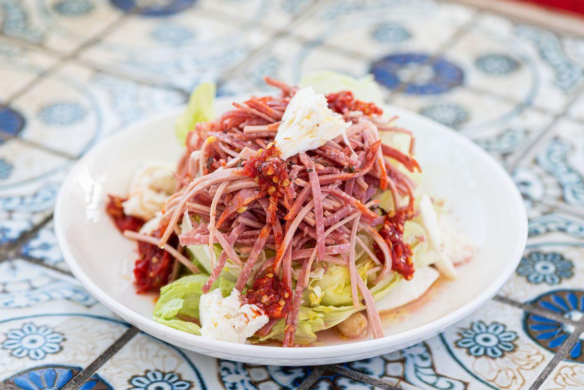 Sunday Gravy antipasto salad.