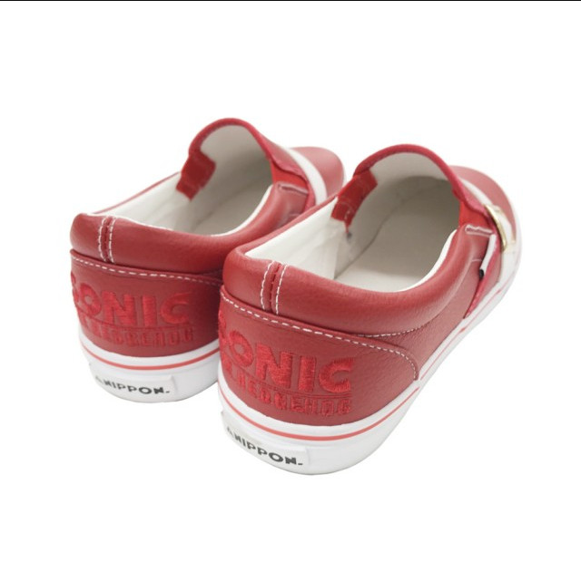 sonic the hedgehog sneakers - back