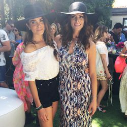 """Actresses Nikki Reed and Ashley Greene chilling at the <a href=""""www.revolveclothing.com"""">Revolve</a> x <A href=""""http://www.peoplestylewatch.com/people/stylewatch/"""">People StyleWatch</a> soiree."""