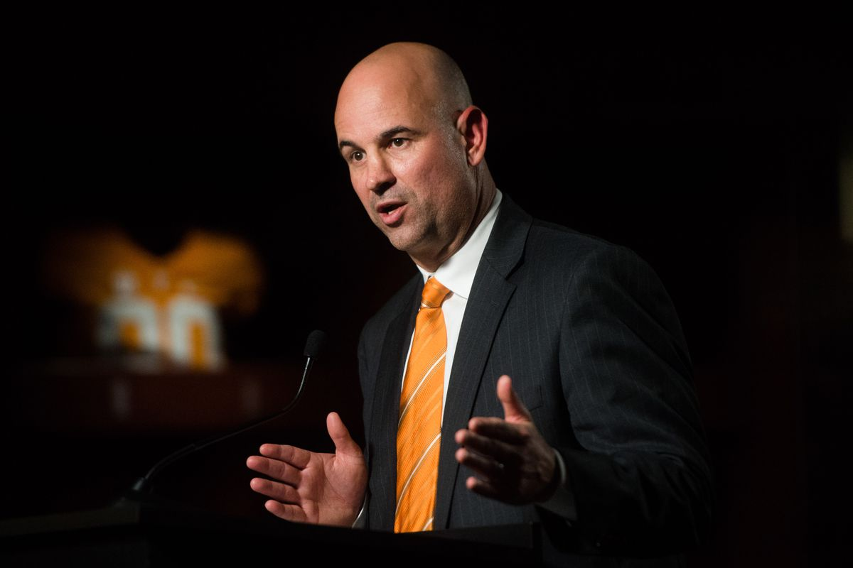 NCAA Football: Jeremy Pruitt Tennessee Head Coach