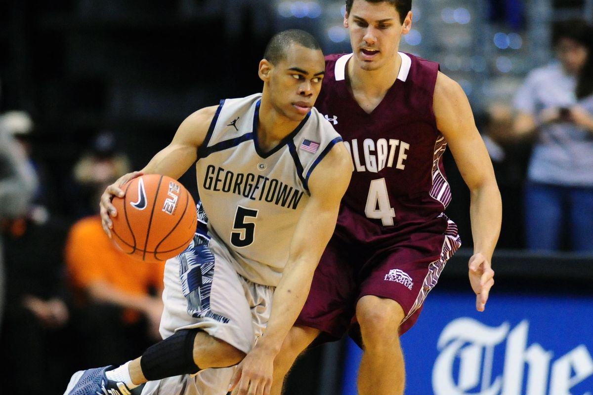 Markel Starks & Georgetown have the only Big East game against a ranked team this week.