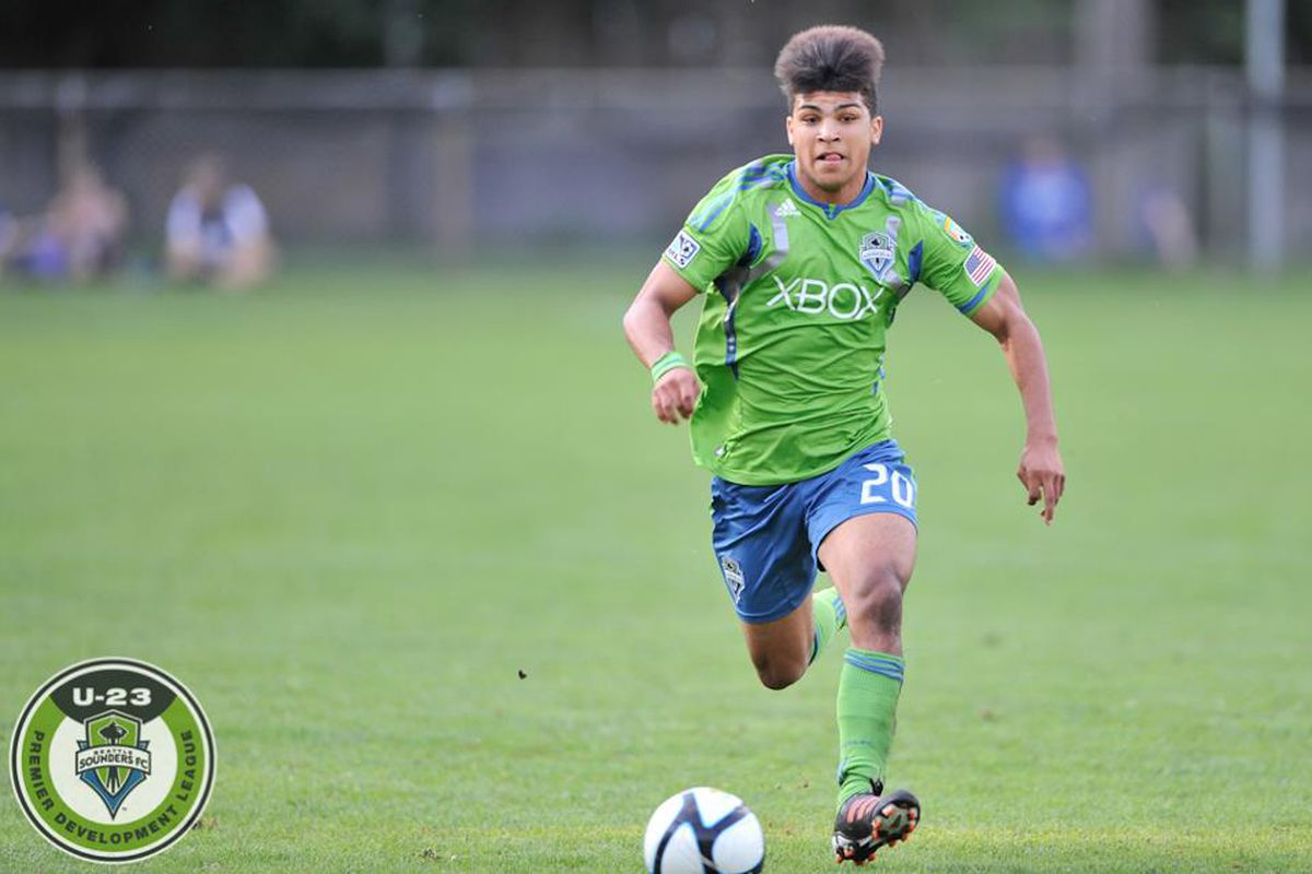 DeAndre Yedlin (photo by Chris Coulter/Sounders U23)