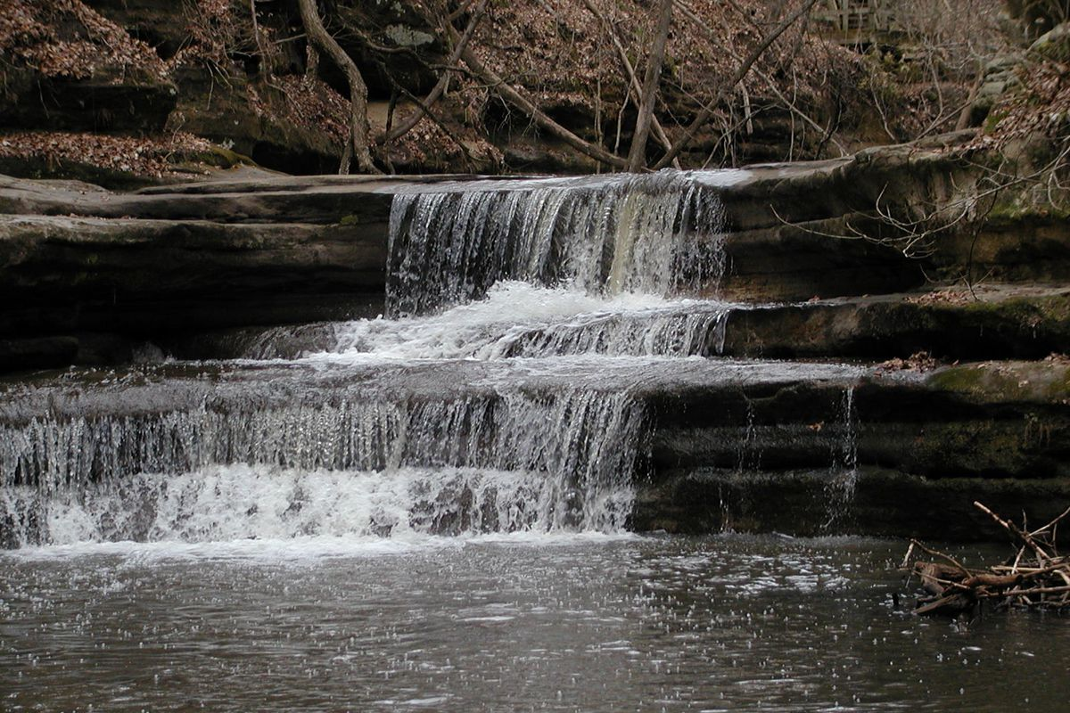 """A multitude of trails and waterfalls are part of the appeal at Matthiessen State Park,one treasure mentioned in """"Nature in Chicagoland."""""""