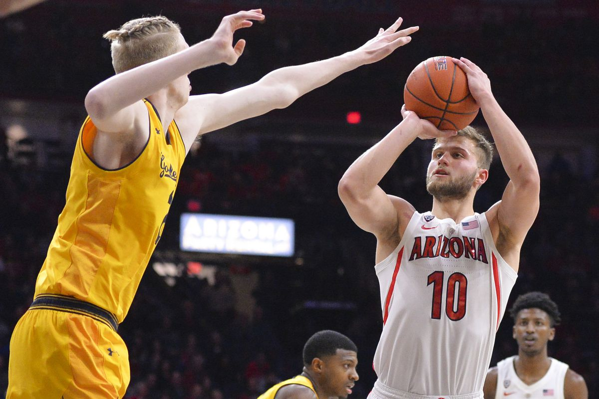 ryan-luther-arizona-basketball-3-point-shooting-wildcats-cal-stanford-pitt-williams