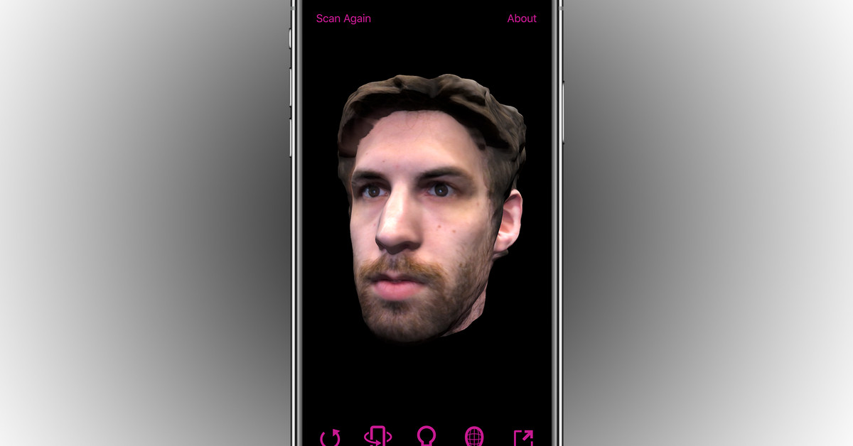 Bellus3D Brings its Uncanny 3D Selfies to the iPhone X