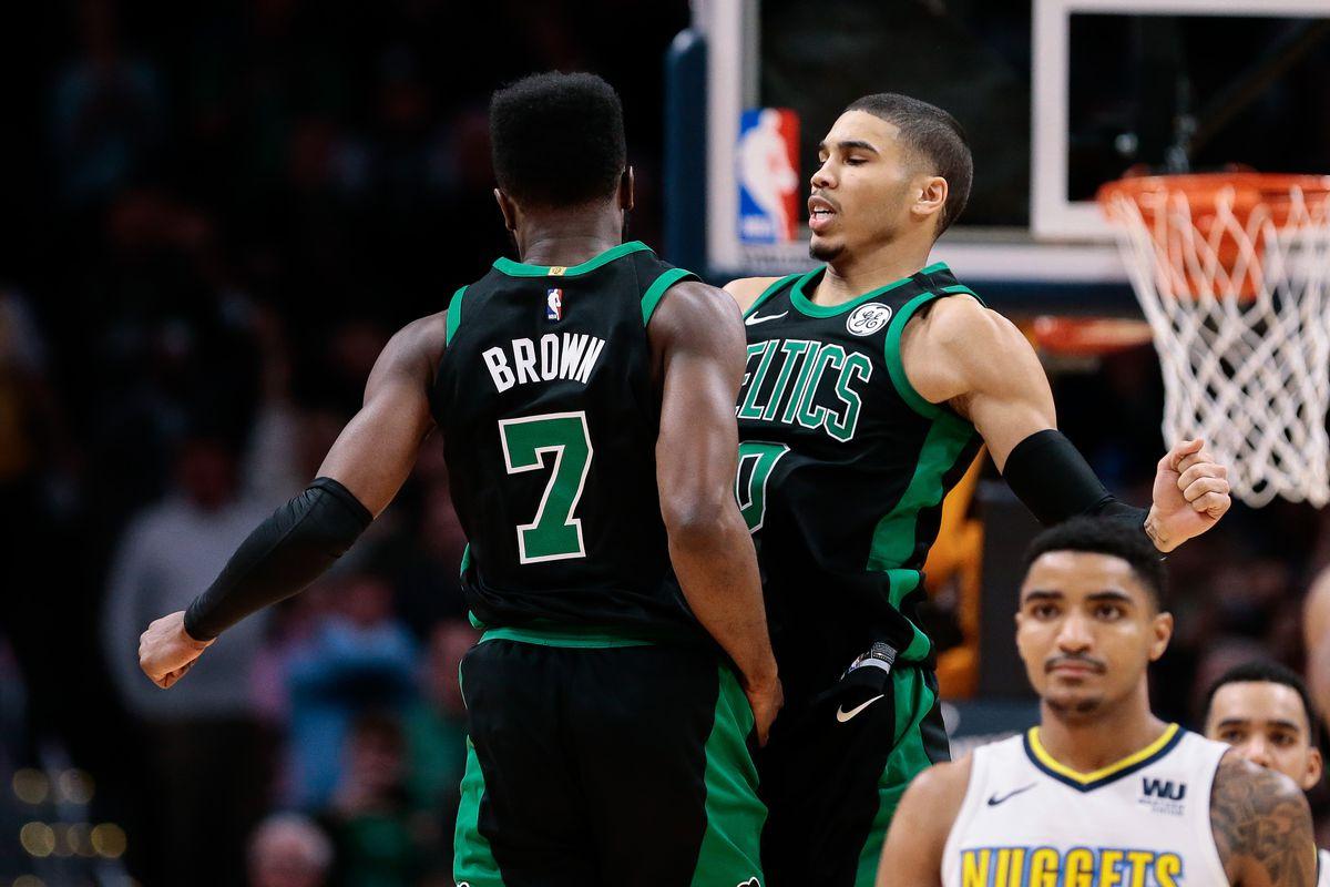 NBA: Boston Celtics at Denver Nuggets