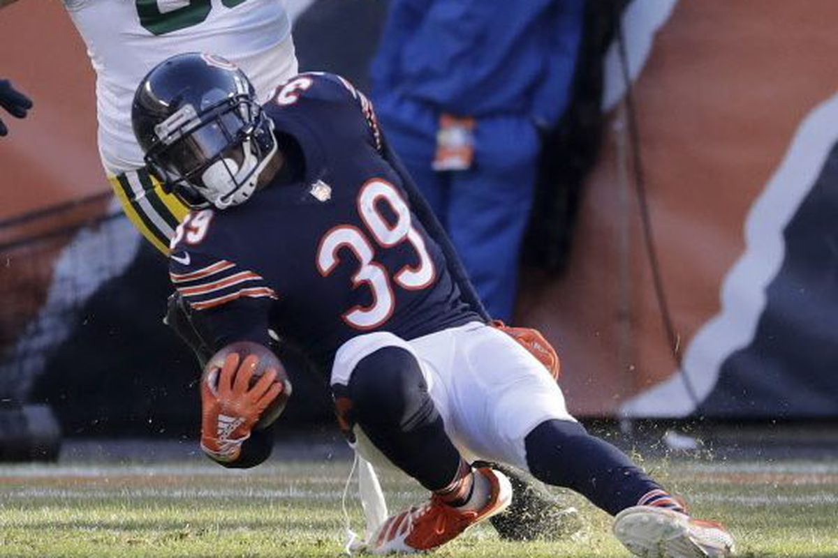 official photos 2ccbc b9163 Bears safety Eddie Jackson in, tight end Trey Burton out vs ...