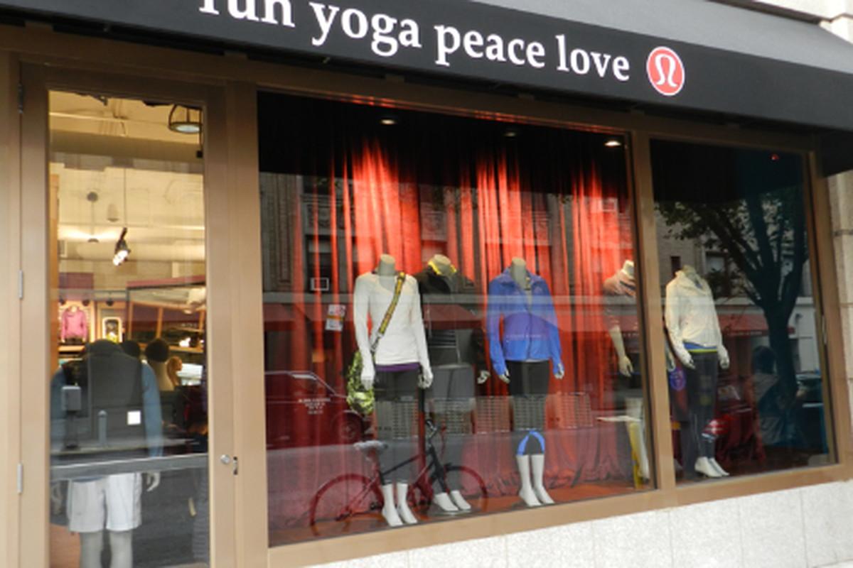 "Image via <a href=""http://www.wellandgoodnyc.com/2011/10/13/store-gazing-inside-lululemons-new-madison-avenue-digs/"">Well + Good</a>"