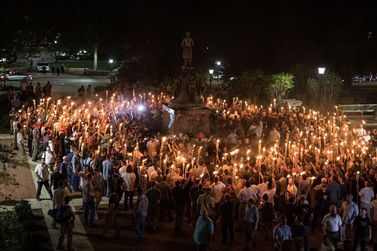 Image result for charlottesville riot campus
