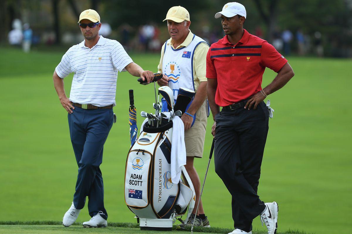 Tiger Woods' ex-caddie leaves Adam Scott for LPGA Tour