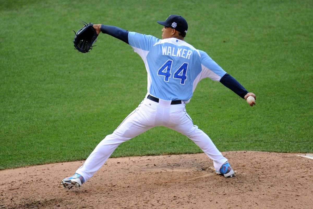 Walker impressed at the Futures Game in 2012