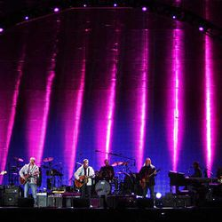 Eagles soar at Rio Tinto Stadium's first concert - Deseret News