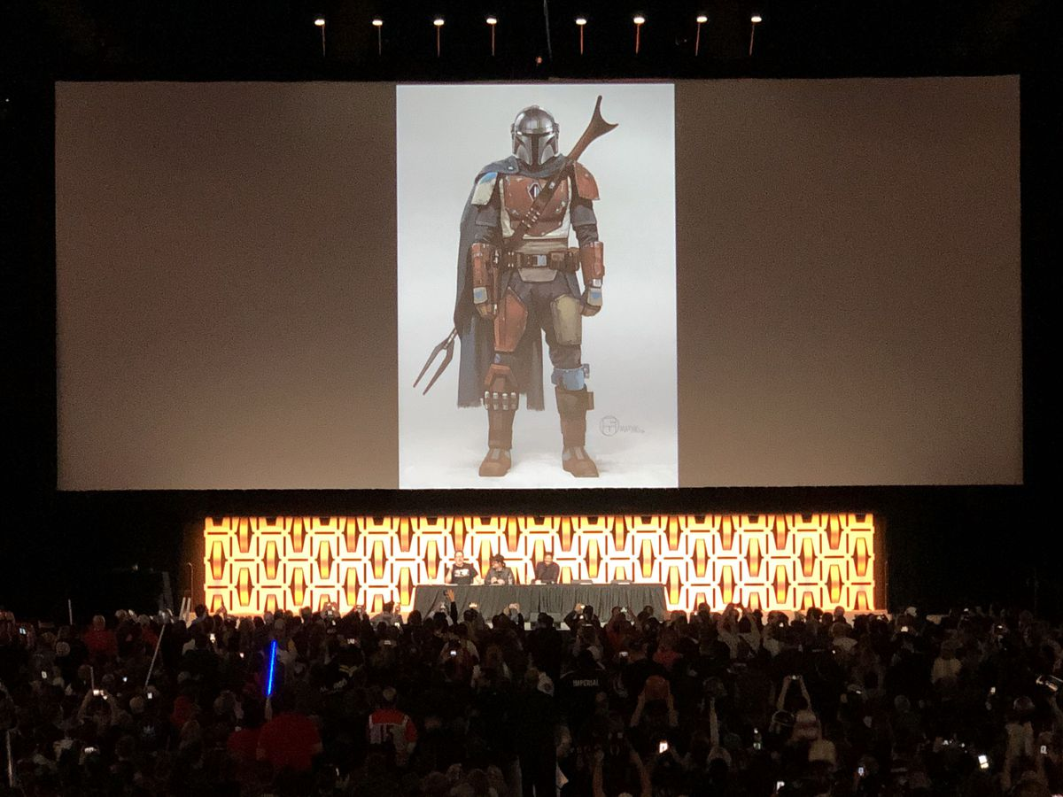 shown Wars The first Mandalorian for The  at teaser Star