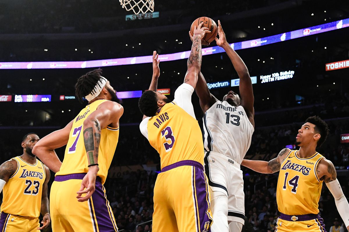 Full Recap Grizzlies Lose In A Landslide To Lakers