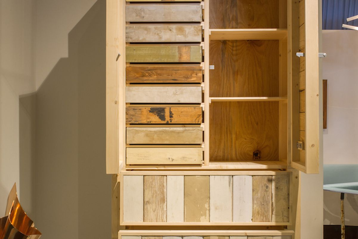 Furniture Maker Piet Hein Eek Is Too Lazy To Make This Cabinet And