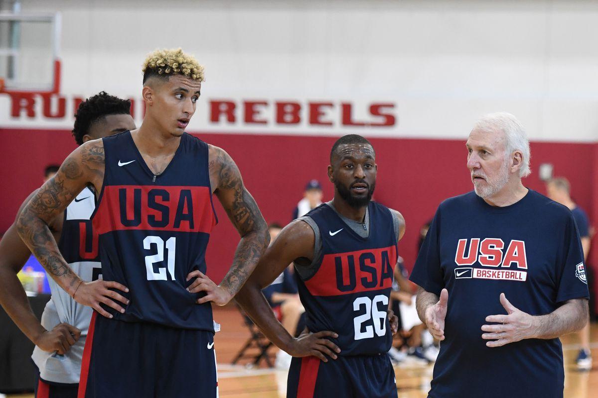 USA Basketball Men's National Team Training Session