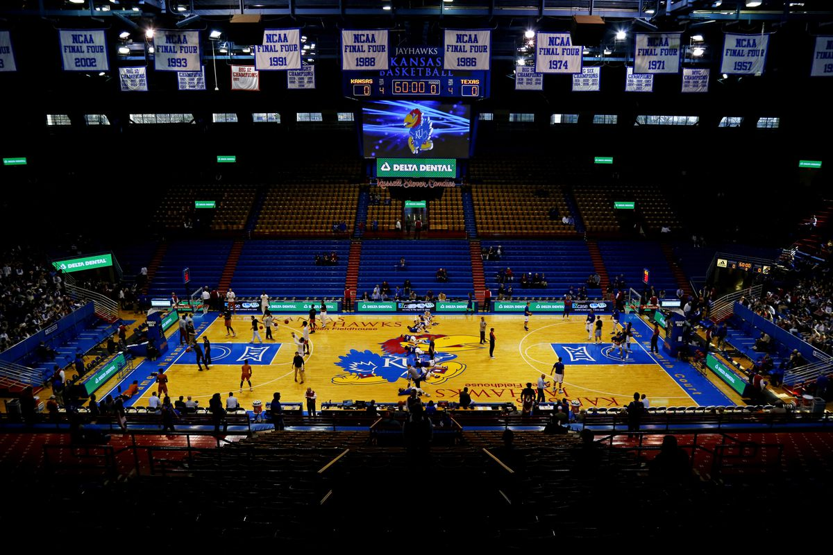 Get your very own print of allen fieldhouse rock chalk talk jay biggerstaff usa today sports malvernweather Images