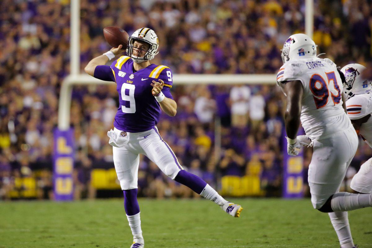 NCAA Football: Northwestern State at Louisiana State