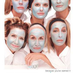 Friends Of Meisel, including Anna Dello Russo, Polly Mellen, Marie-Amelie Sauve, and Lori Goldstein star in this skincare ad.