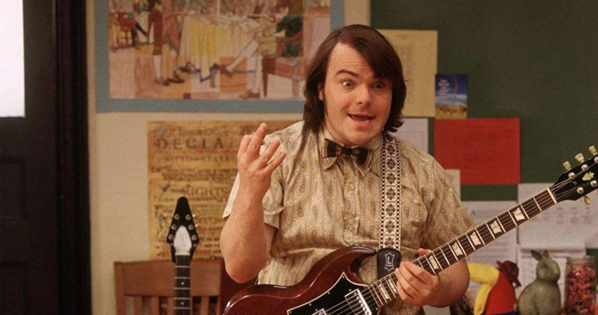 Dewey Finn (Jack Black) en School of Rock