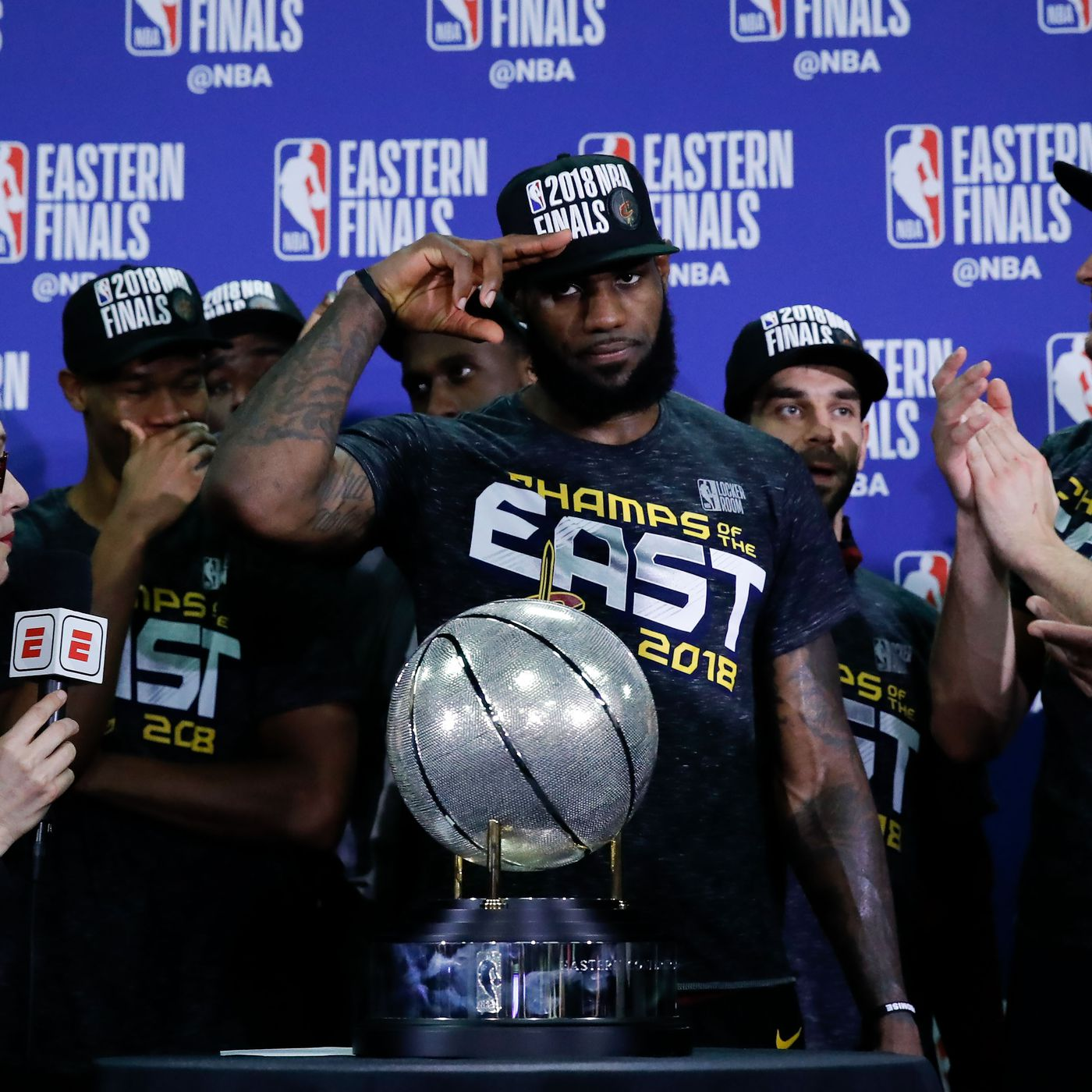 5a832166a71 Podcast  LeBron James leads Cavs to Game 7 win