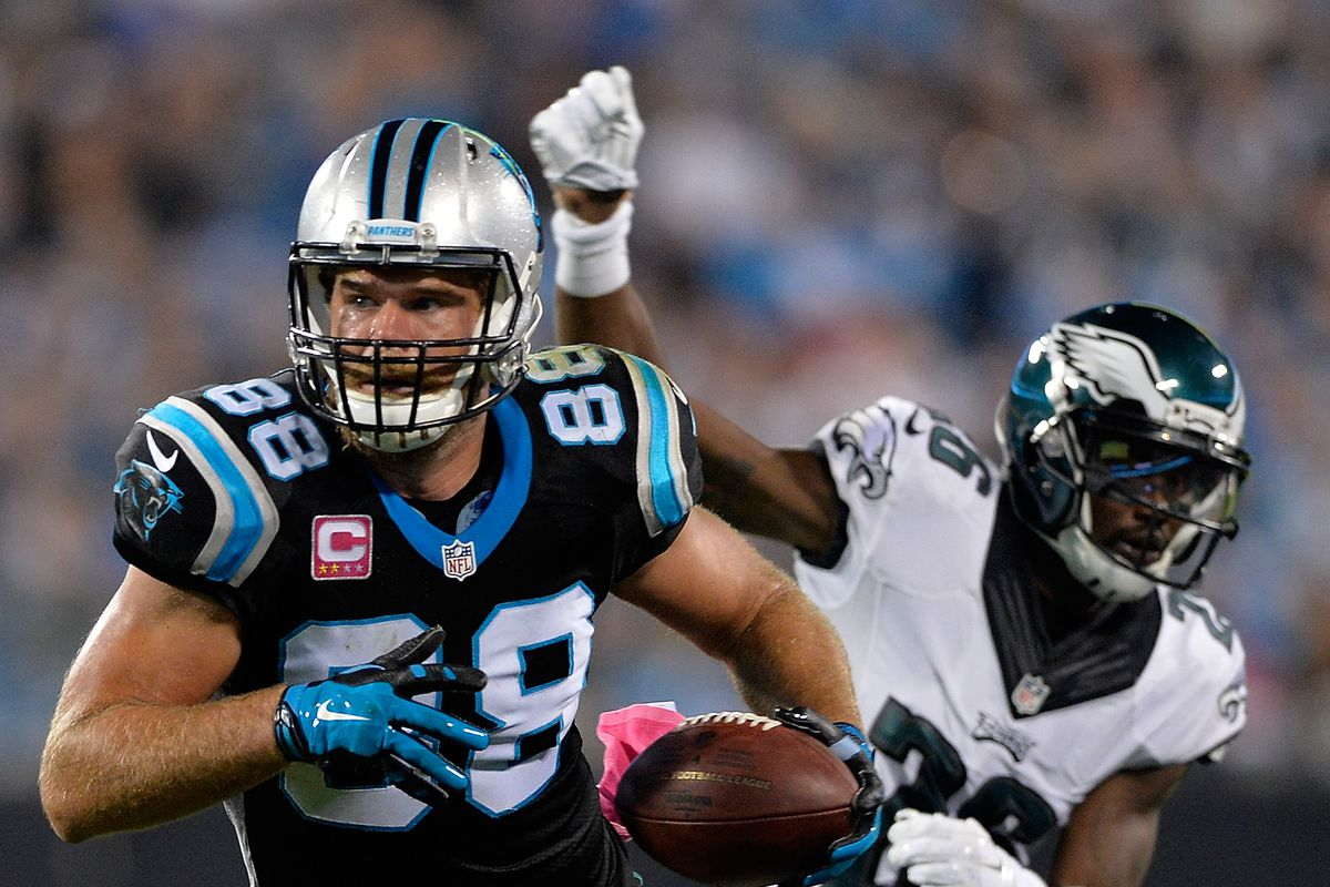 Greg Olsen Injury Panthers tight end placed on injured reserve