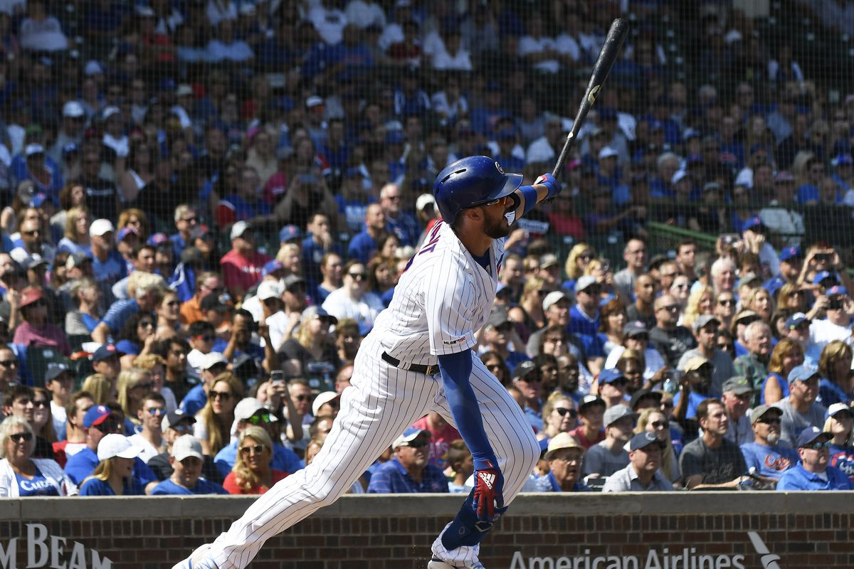 Despite all the trade talk, Kris Bryant is still with the Cubs — for now.