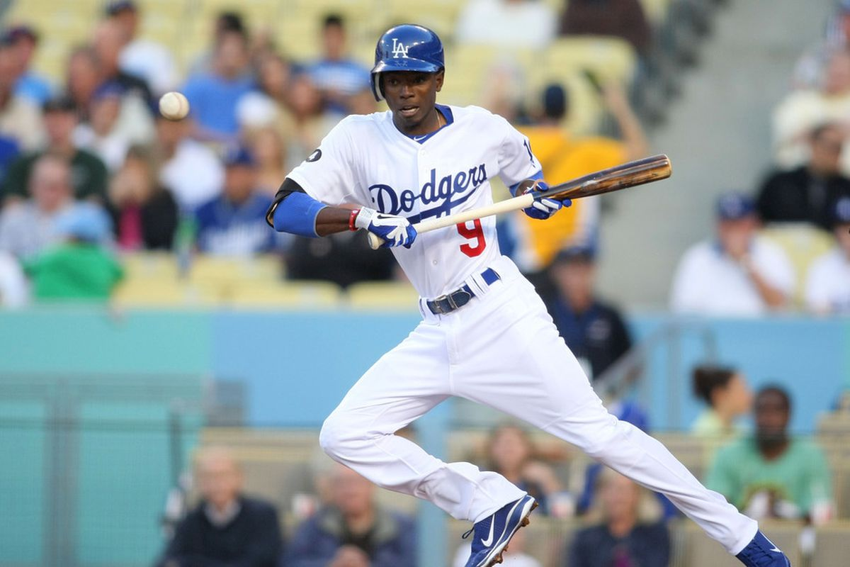 Dee Gordon and the Dodger offense scored all of 12 runs in six games this week.