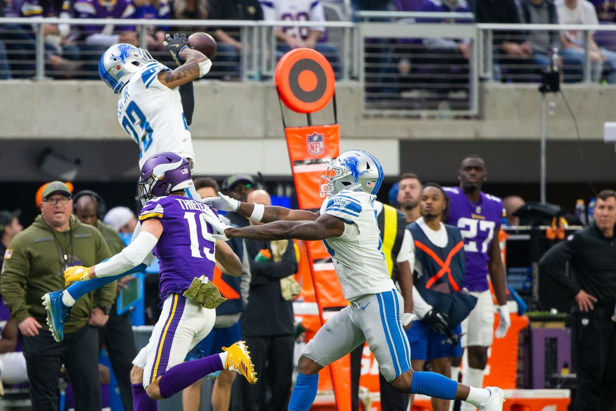 low priced fff53 a510a VIDEO: Mic'd up Darius Slay talks trash about Kirk Cousins ...
