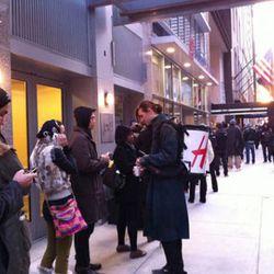 Line for Lanvin x H&M began at 4:30 am