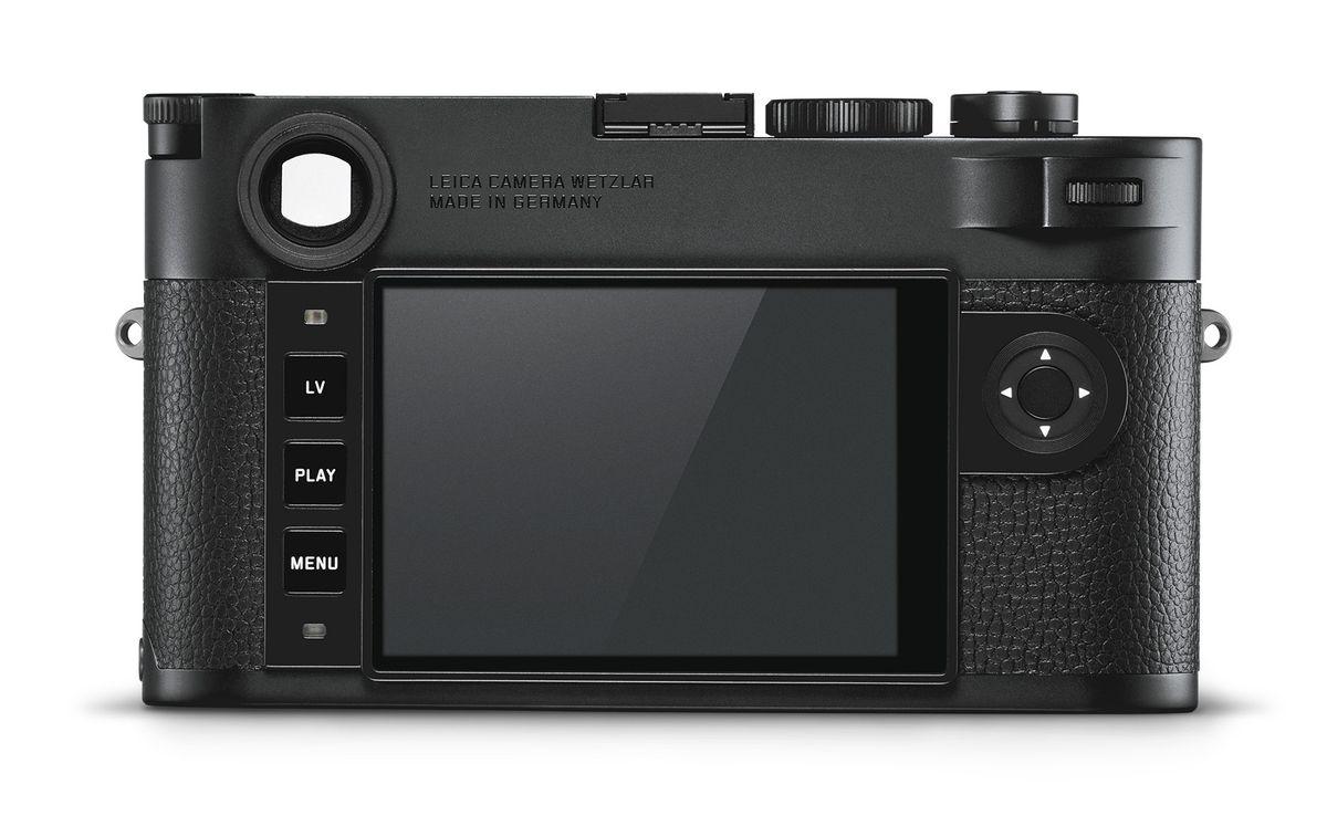 Leica M10 Monochrom back