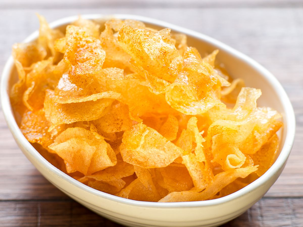 Oiji's honey butter chips