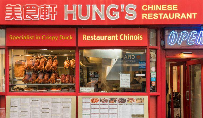 Best restaurants in Chinatown London: Hung's