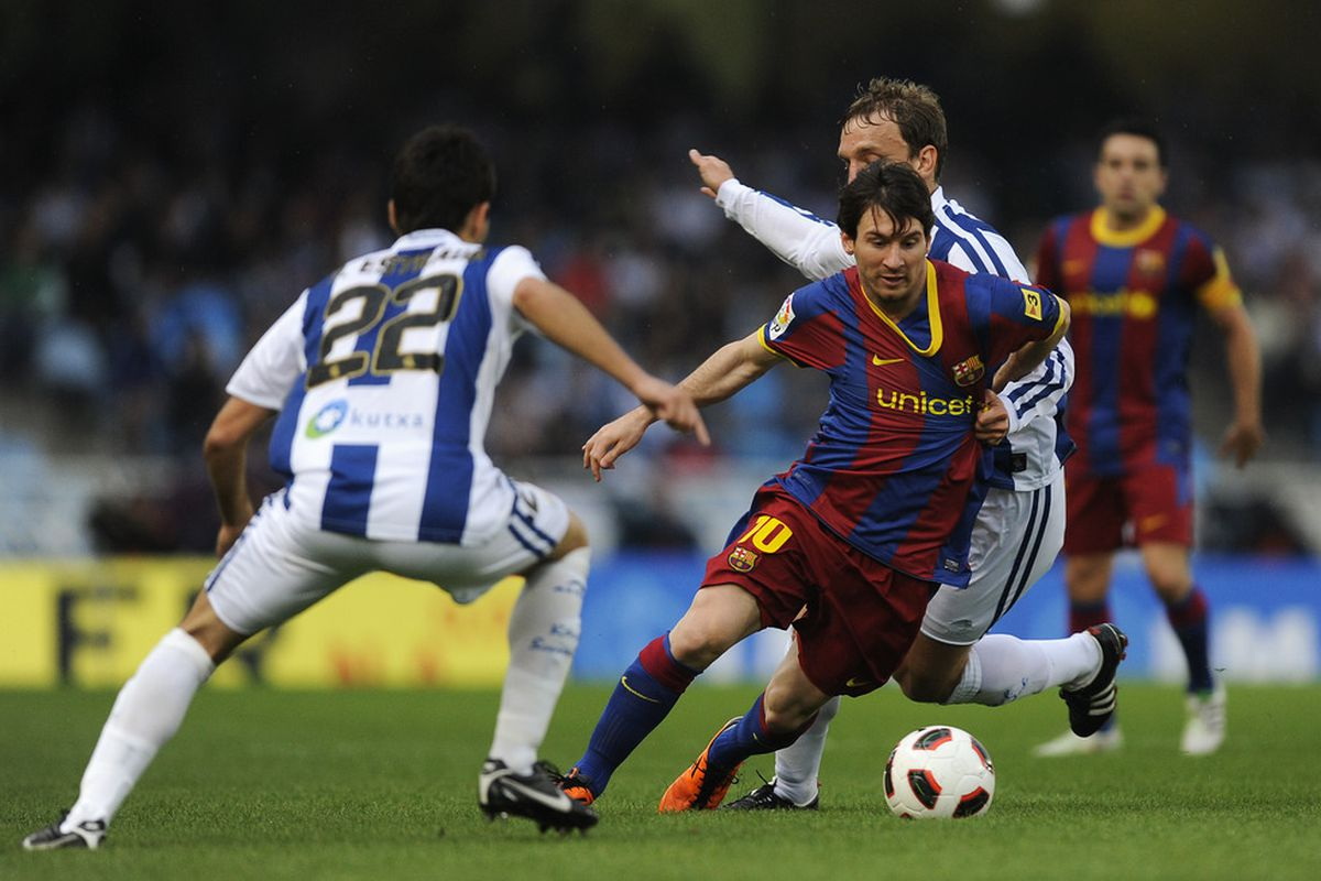 Real Sociedad is proving to be quite a thorn in Barcelona's side