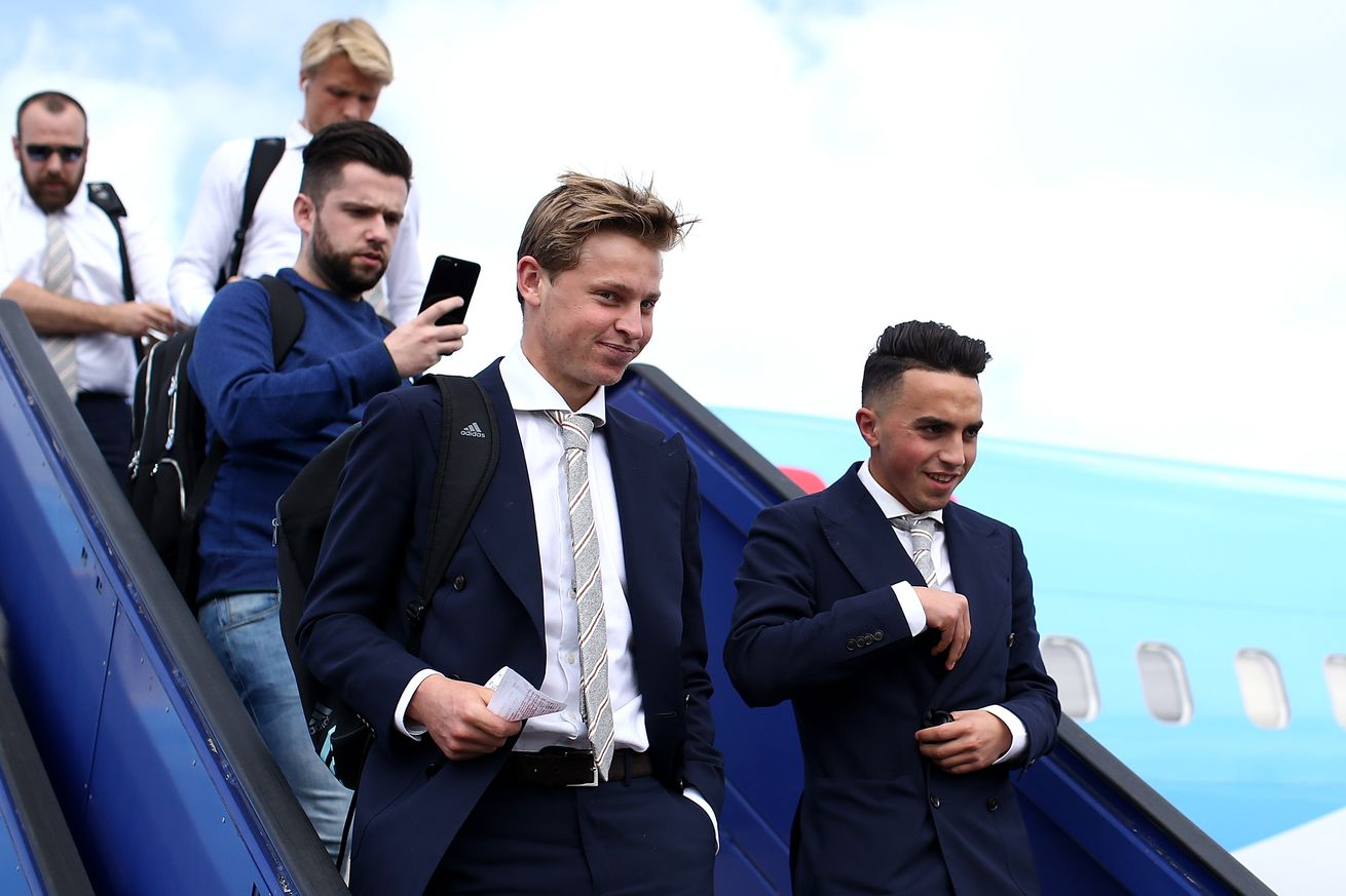 Frenkie de Jong ?can?t promise? he?ll be at Ajax next season
