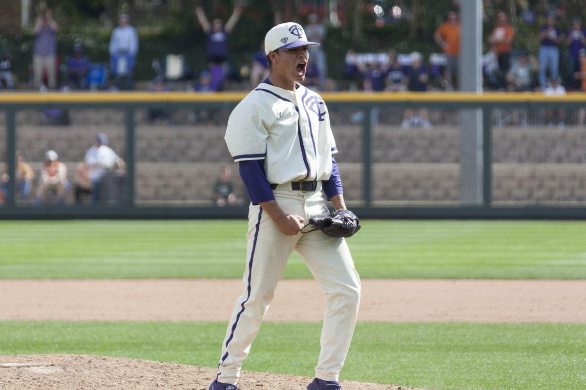 TCU Baseball vs Texas   March 24, 2019   Lupton Stadium, Fort Worth, TX