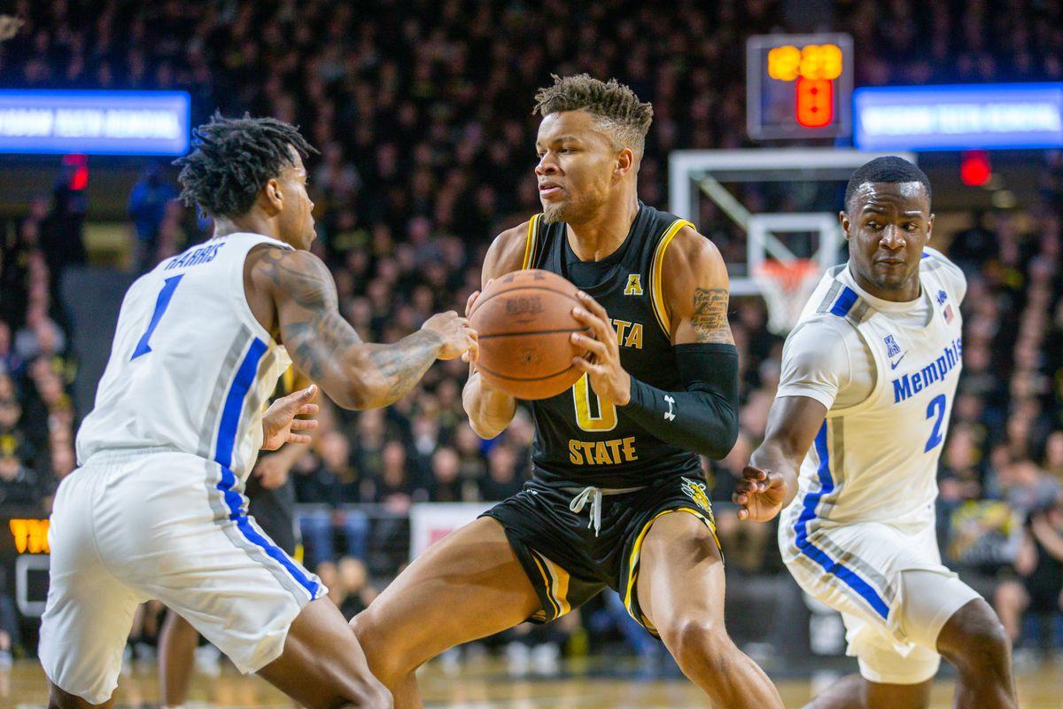 NCAA Basketball: Memphis at Wichita State