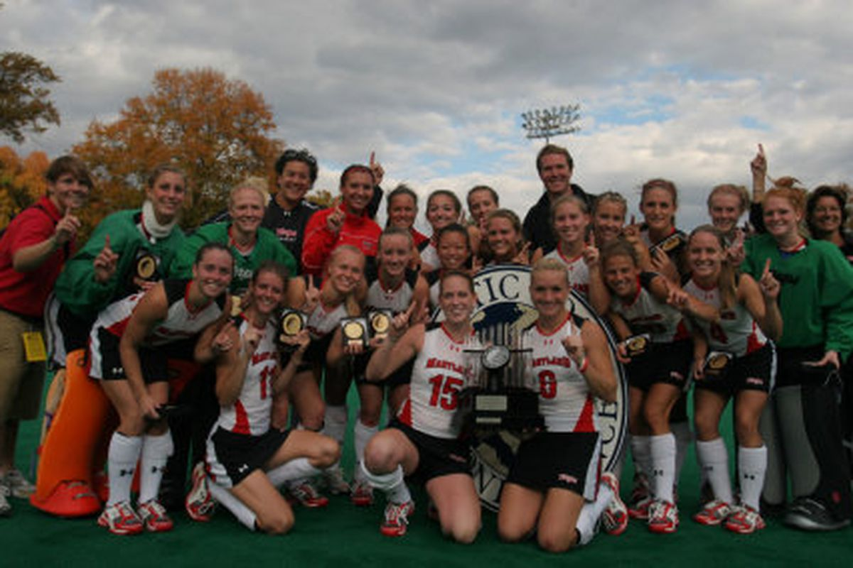 Why start with Girls Field Hockey?  Because they win.  And they're a lot nicer to look at than Ralph is.