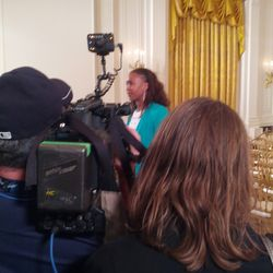Tamika Catchings in East Room