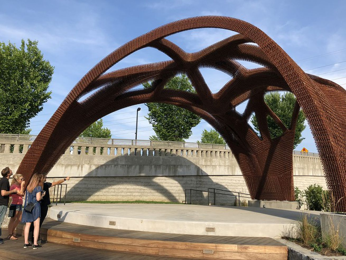 World?s largest 3D-printed structure unveiled in Tennessee