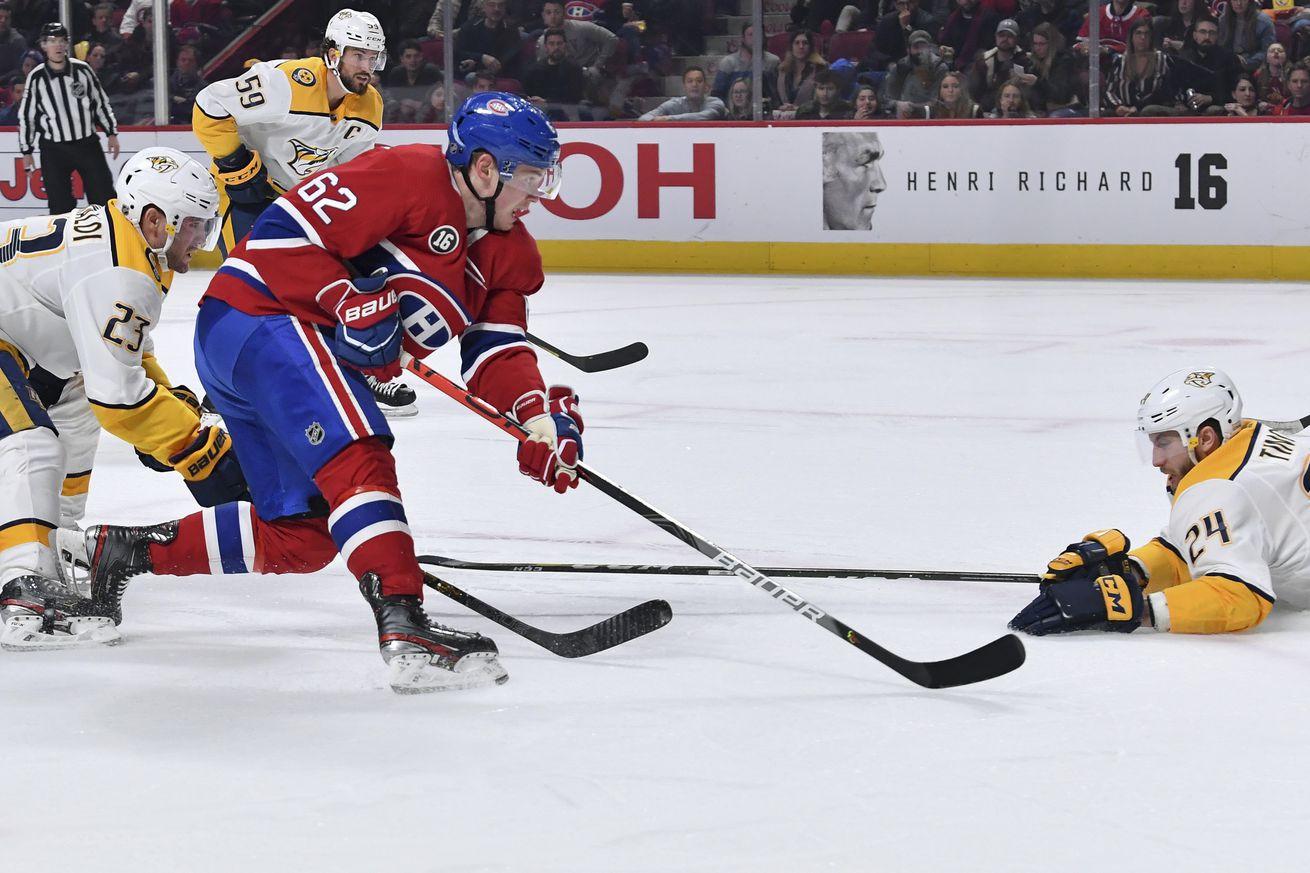 Nashville Predators v Montreal Canadiens