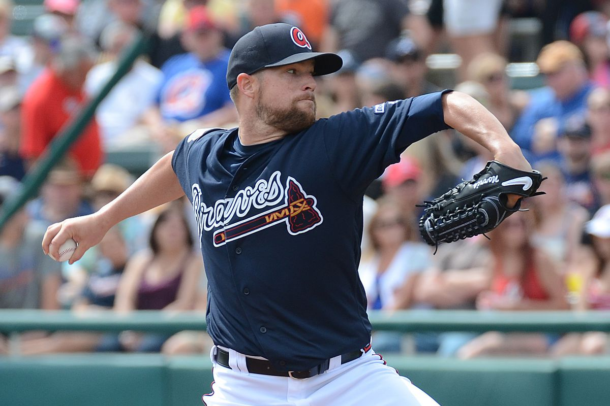 This is a caption about Bud Norris, who is the pitcher who will be pitching in this game for the team you are a fan of, the Atlanta Braves.