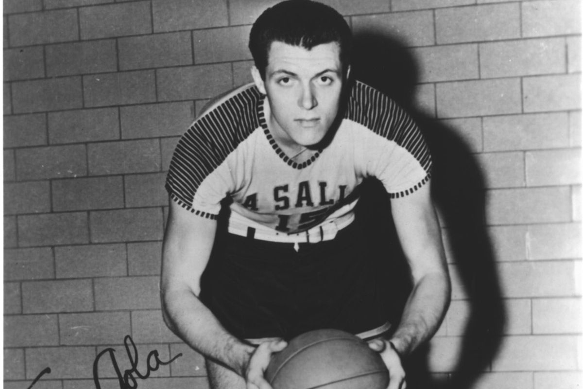 Tom Gola won an NIT title, an NCAA Championship and an NBA title with the Philadelphia Warriors