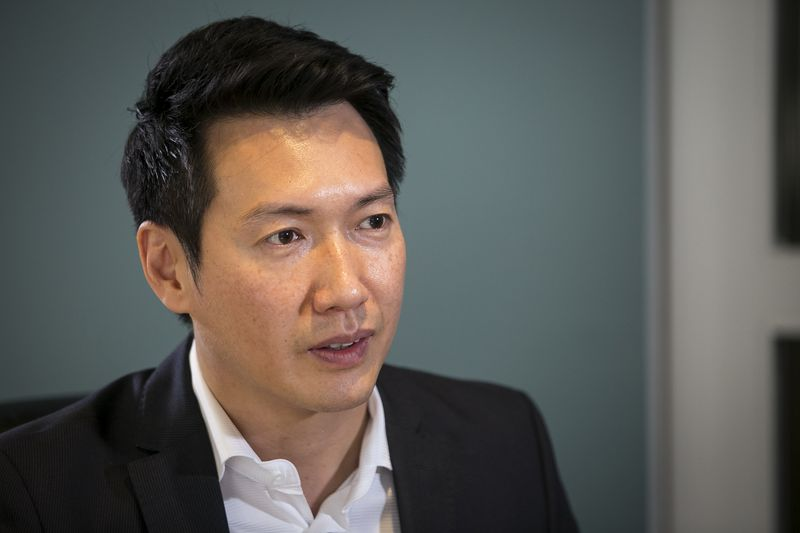 Chris Lai, co-CEO at Smash Interactive, which plans to develop Surge, a $30 million esports arena at 2500-48 S. Wabash Ave.