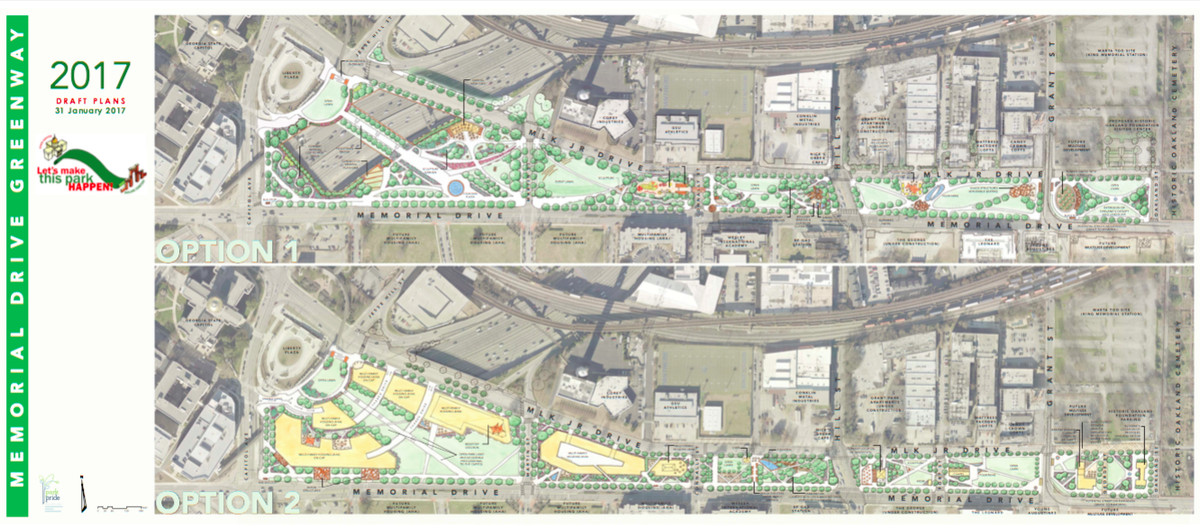 In Atlanta, these are visions for transforming Memorial Drive's westernmost reaches.