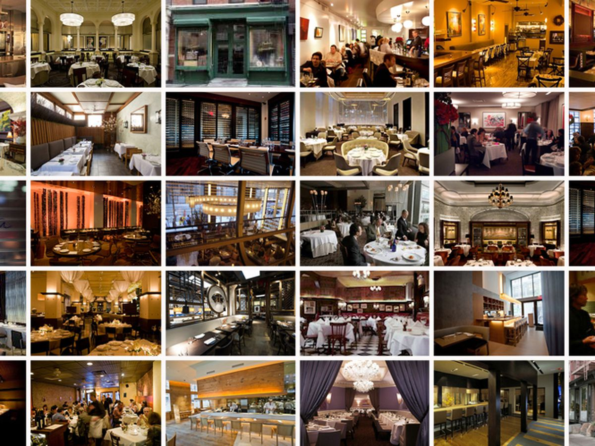 Map Of New York Restaurants.A Map Of New York City S Michelin Starred Restaurants Eater Ny