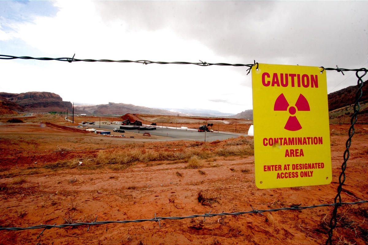 Crews have removed more than 5 million tons of uranium mill tailings and contaminated soil from the banks of the Colorado River outside Moab.